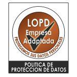 Distintivo lopd2 150x150 Solicitud de Presupuesto